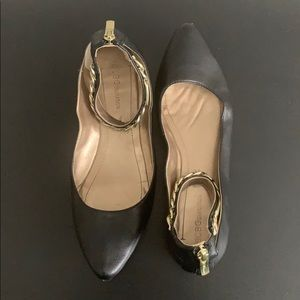 BCBGeneration Flats with Ankle strap Sz 8